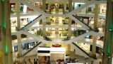 Shopping Mall. Timelapse stock footage