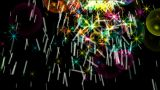 shine stars & soap bubble,fireworks,waterdrop,falling particle.Explosion,brilliant,welding Animation