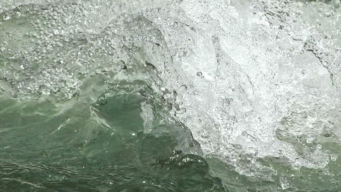Water movement of the Okutama River,Slow motion,in... Stock Video Footage