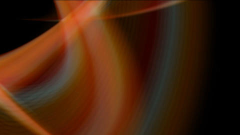 smooth silk yarn & smoke,fabric strips flowing by... Stock Video Footage