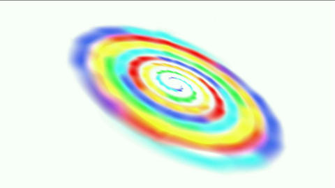 swirl rainbow galaxy in out space,beautiful stars Milky... Stock Video Footage
