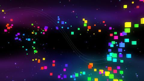 Colorful box FbC HD Stock Video Footage