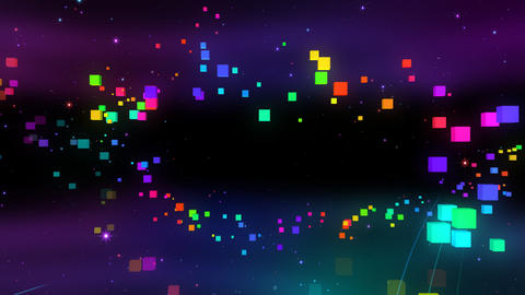 Colorful box FbC HD Animation