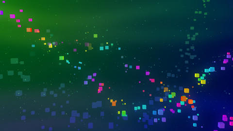 Colorful box SbC HD Stock Video Footage