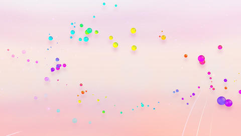 Colorful dot FsC HD Animation