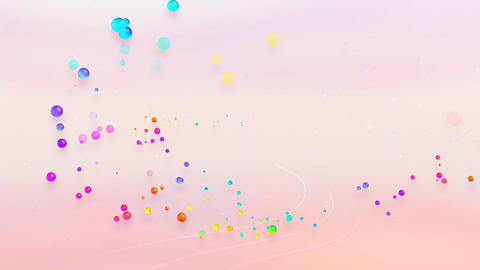 Colorful dot FsC HD Stock Video Footage