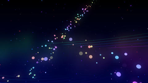 Colorful dot RsC HD Stock Video Footage