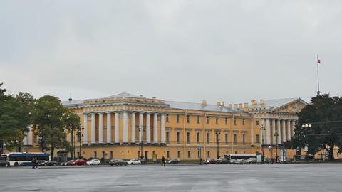 Main Admiralty, Saint Petersburg, Russia Stock Video Footage