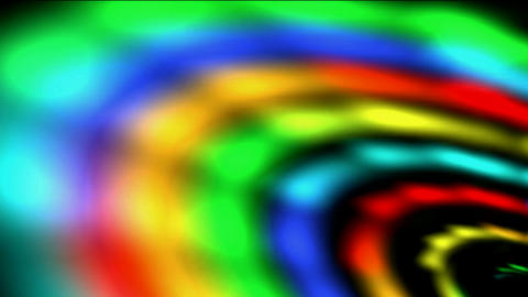 rotate rainbow galaxy & rays light in out space,beautiful stars Milky Way in cosmos,time wormhole tu Animation