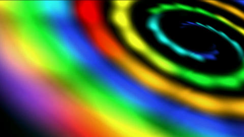 four rainbow galaxy cross & rays light in out... Stock Video Footage