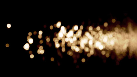 Water gold flare Stock Video Footage