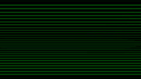 abstract straight line background,green blind,computer... Stock Video Footage