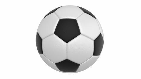 Football Ball stock footage