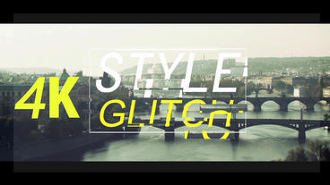 Style Glitch After Effects Project