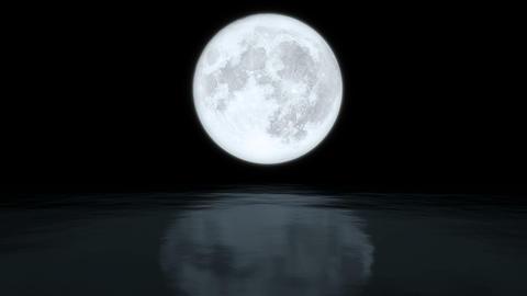 Full moon Animation