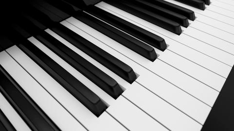 Piano keyboard Animation