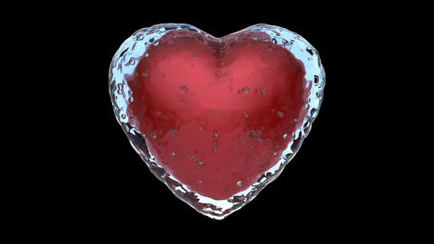 Frozen Heart stock footage