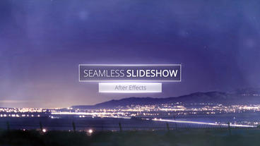 Seamless Slideshow - After Effects template After Effects Template