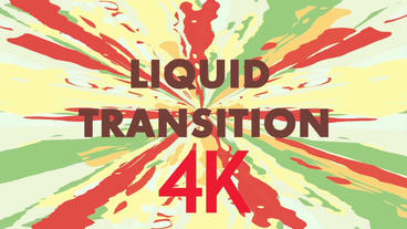 Liquid Transition After Effects Project