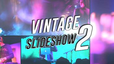Vintage Slideshow II - Apple Motion Template