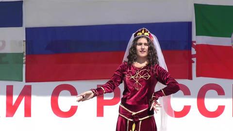 Armenian folk dance Footage