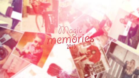Magic Memories After Effects Template