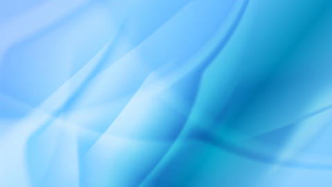 Blue abstract moving flowing waves video animation Animation