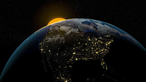 American Sunrise Animation