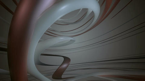 curve metalic space Animation