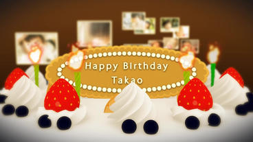 Celebration Cake stock footage