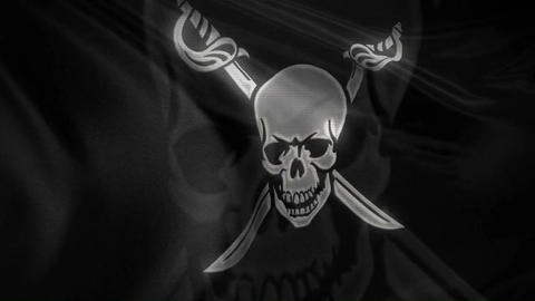 Pirate Flag Loop Flags Flags Animation