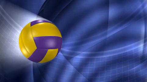 Vallyball Background Loop stock footage