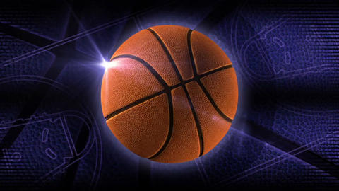 basketball loop Animación