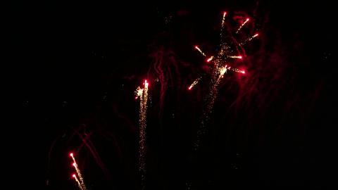 Beautiful fireworks show Footage