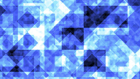 Abstract Background Blue Squares 4K Animation