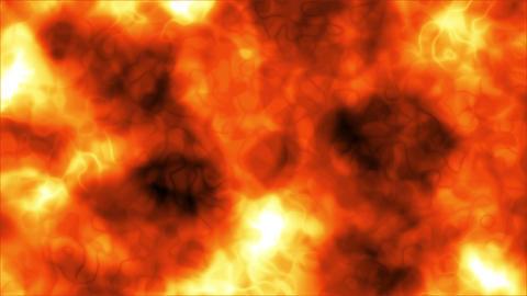 Abstract Background Orange Areas 4K Animation