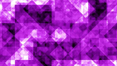 Abstract Background Purple Squares 4K Animation
