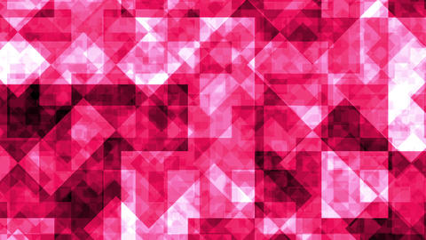 Abstract Background Red Squares 4K Animation