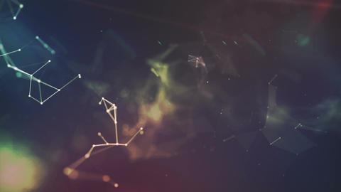 Plexus Background v 8 Stock Video Footage