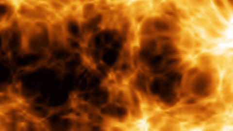 Abstract fire background Live Action