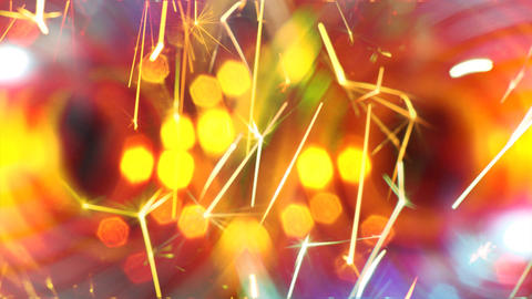 background with sparklers Footage