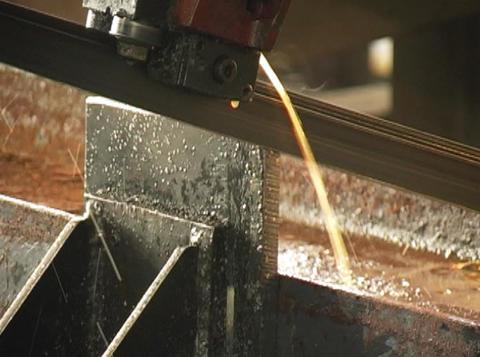 Cutting Process stock footage