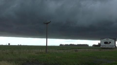 Big Storm in the Farm Footage