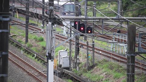 train running Footage