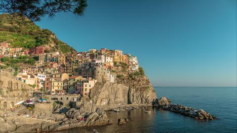 Time lapse of Manarola, Cinque Terre Live Action