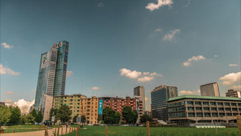 Lombardy building, Milan Footage