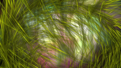 Digital Animation of a mystic Swirl in 4K Animation