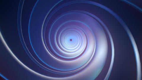 glossy twirl tunnel Animation