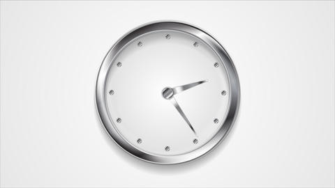Abstract moving wall clock video animation Animation