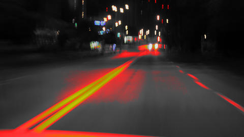 Night Road_another Place stock footage